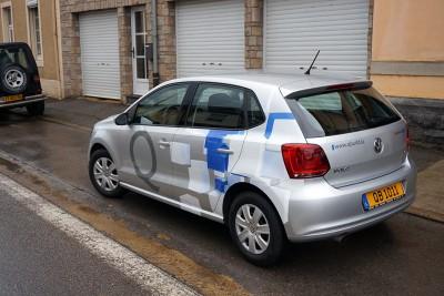 Décoration d'une voiture de représentation